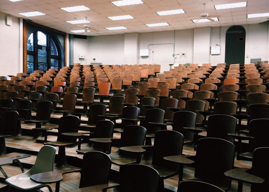 大学の講堂
