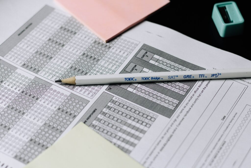 選択式試験の問題を解く